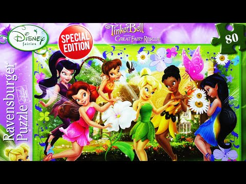 TINKER BELL Disney Fairies PUZZLE Game Rompecabezas Ravensburger De Kids Learning Play Set Toys