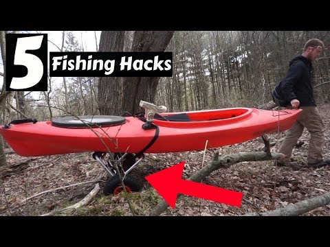 5 FISHING *HACKS* ~ CHEAP Fishing Items You NEED To Have!!