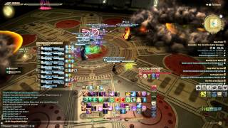 ffxiv alexander savage turn 1 a1 clear knights of the blood smn pov tonberry