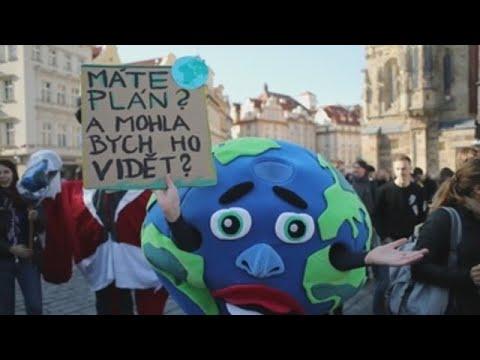 Los jóvenes toman calles de todo el planeta por el clima
