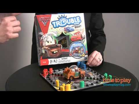 Cars 2 Trouble Game With Mater From Hasbro Youtube