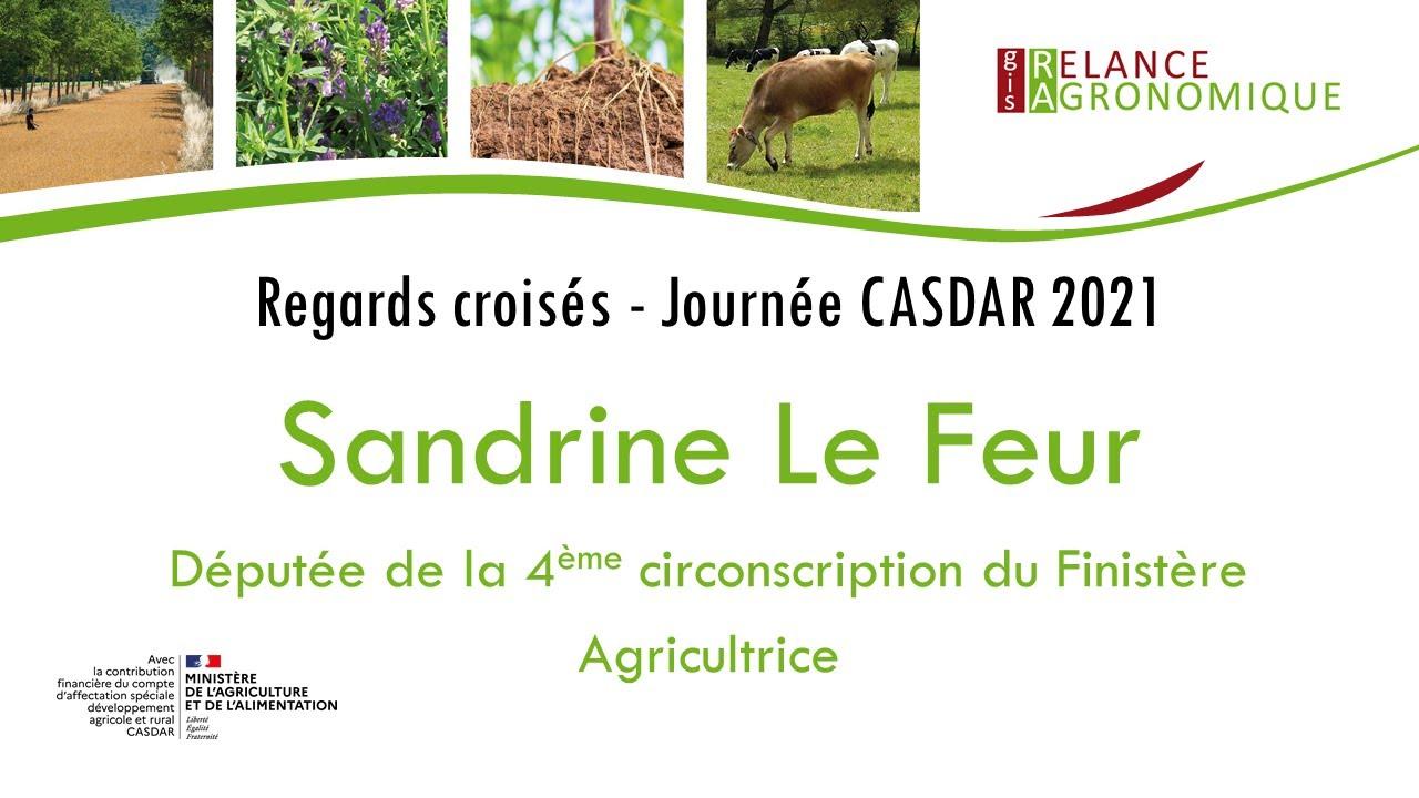 Sandrine Le Feur - Une approche intégrée de l'atténuation du changement climatique en agriculture