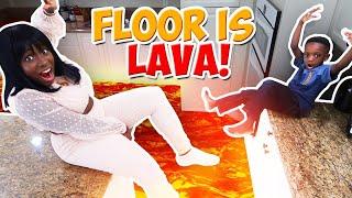 HEY SUPER SIAH! THE FLOOR IS LAVA!!!