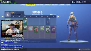 Fortnite Season 5 FIRST LOOK : FULL BATTLE PASS SHOW AND REVIEW