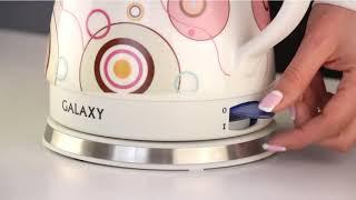 Обзор «Galaxy GL 0505 электрический чайник»
