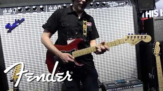 Fender Blues Junior Lacquered Tweed Demo