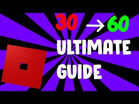 Full Download] Tutorial How To Get Over 60 Fps In Roblox