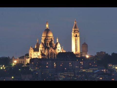 Vues de la Basilique du Sacré-Coeur de Montmartre