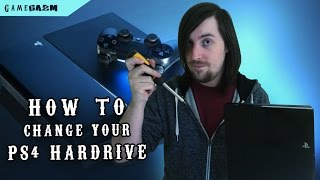 How To Change the PS4 Hard Drive | GameGazm TV