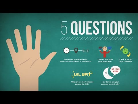 5 Questions: Most Valuable Life Skills, Class Selection Strategy, & Switching Majors