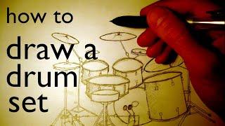 Drum kit draw 2