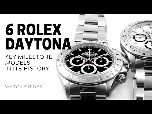 Rolex Daytona History: 6 Key Models of the Rolex Daytona | SwissWatchExpo [Rolex Watches]