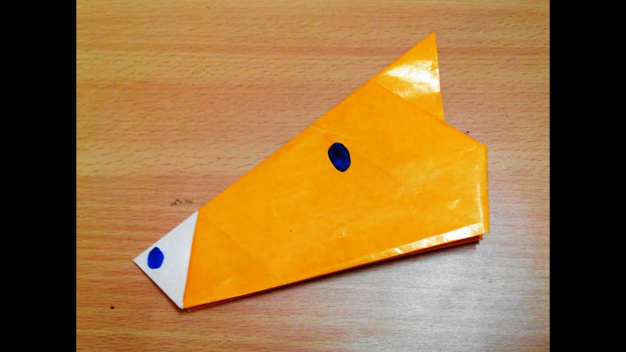 How To Make An Origami Horse Face Step By