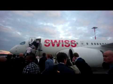 TRIP REPORT | SWISS A220-100/CS100 ECONOMY Stuttgart-Zurich