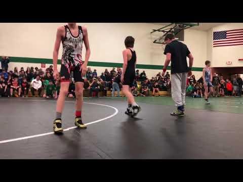 Gabe Hungerford Belgrade Middle School Mixer match 1