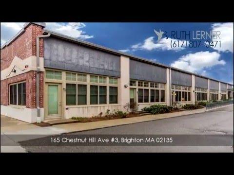 Boston Loft: 165 Chestnut Hill Ave #3, Brighton