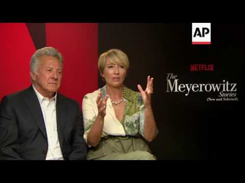 'The Meyerowitz Stories' cast on playing dysfunctional family members, fighting styles