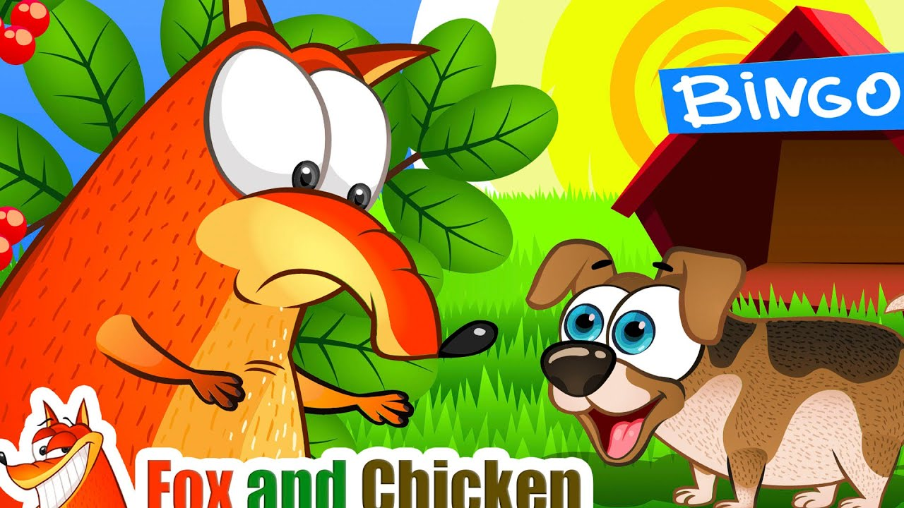Bingo Dog Song + More | Fox and Chicken Nursery Rhymes Kids Songs