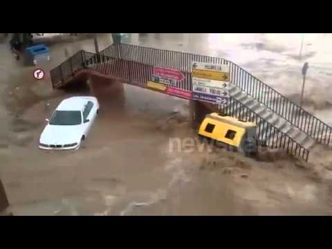 Floods in Murcia, Spain 22/09/2014