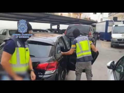 La Policía Nacional detiene en Málaga a 'El Grana', el sicario ceutí huido