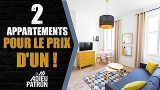 Deux appartements pour le prix d'un !