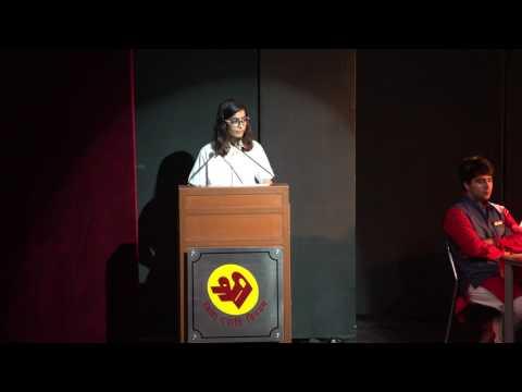Shri Debate 2017 - Final Round - TSRS Moulsari v/s Neerja Modi