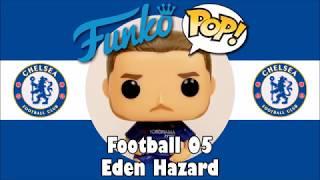 Chelsea football team Eden Hazard Funko Pop unboxing (Football 05)