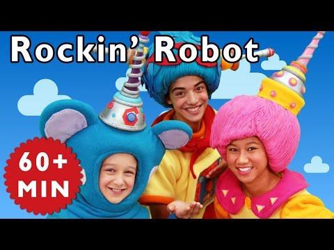 Rockin' Robot and More | Nursery Rhymes from Mother Goose Club!