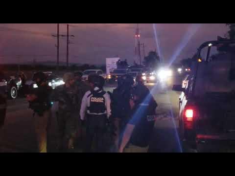 Policías fueron atacados por un comando en un yonke que operaba como casa de seguridad