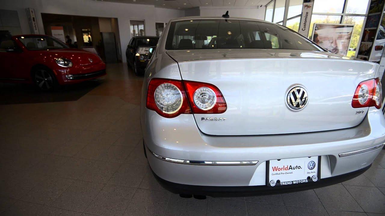 2010 Volkswagen Passat Komfort Auto Stk 3689a For Sale