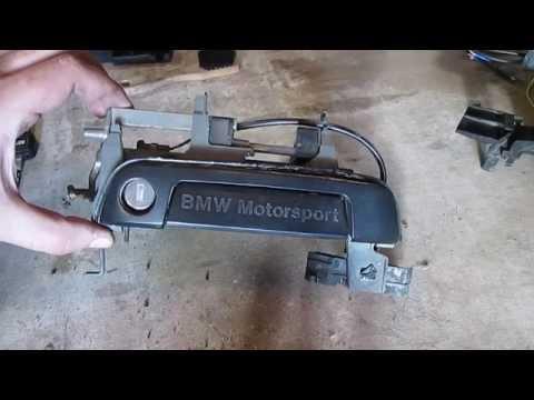Как снять ручку двери BMW e36