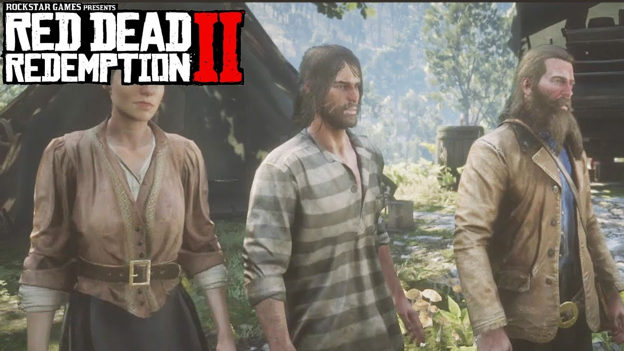 Red Dead Redemption 2 Rescuing John Marston From Death Visiting Hours Mission