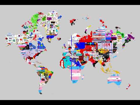 April 01, 2019 - Pixels World War - 24 Hours Time Lapse