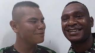 Viral orang papua belajar bahasa gayo lucu ngakak😂😂