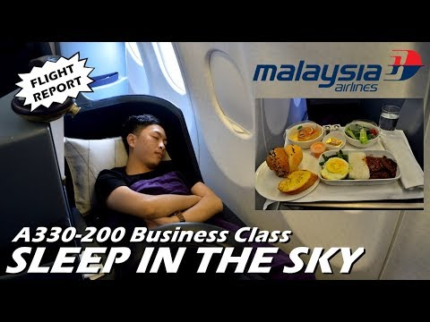 FLIGHT REPORT - MEWAH !! Pengalaman Naik BUSINESS CLASS Mala