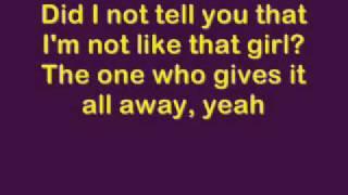 dont tell me avril lavigne lyrics