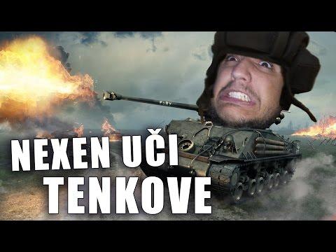 Nexen Uci da Igra Tenkove!