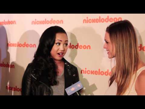Cymphonique Miller Interview - 2012 Nickelodeon Upfronts