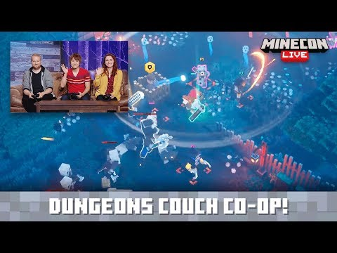 minecon-live-2019:-co-op-in-minecraft-dungeons