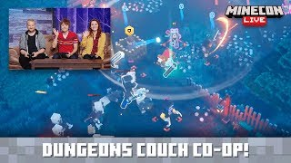 MINECON Live 2019: Co-op in Minecraft Dungeons
