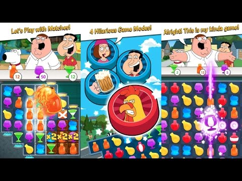 Family Guy Freakin Mobile Game Android Gameplay