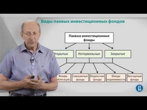 Курс лекций «Фондовый рынок». Лекция 4: Виды ПИФ