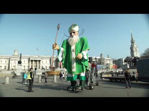 Tourism Ireland takes over London for St. Patrick's Day!