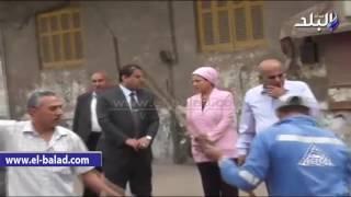 بالفيديو والصور.. محافظ الغربية يتفقد شوارع مدينة طنطا لرفع أكوام القمامة