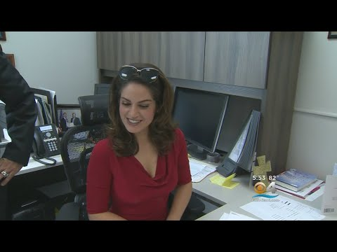 CBS4 Anchor Rudabeh Shahbazi Had The Privilege Of Being A Principal For A Day