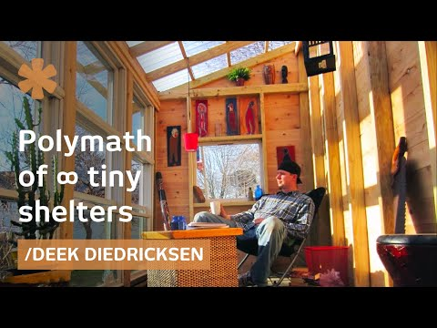 Tiny houses' polymath: tinker, lyricist, carpenter, cartoonist