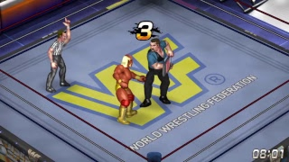 Fire Pro World Hogan vs Bossman WWF World Title