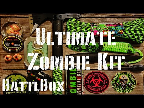 Ultimate Zombie Survival Kit: BattlBox Mission 8