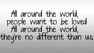 Justin Bieber ● All Around The World {Feat. Ludacris} (Lyrics!)