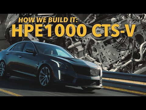 HPE1000 CTS-V: Built And Tested By Hennessey Performance